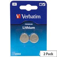 Verbatim Multipurpose Battery Lithium (Li) 3 V DC 2 Pack