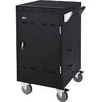 AVer E24c Charging Cart - 127 mm Caster Size - 640 mm Width x 632 mm Depth x 1039 mm Height - Steel Frame - For 24 Devices