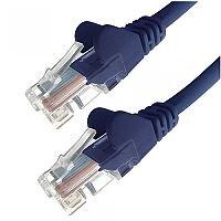 Group Gear 10M Blue RJ45 UTP CAT 6 Stranded Flush Moulded Snagless Network Cable 24AWG LS0H 22382