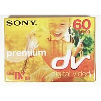 Sony Mini DV Premium Tape 60min 5 Pack