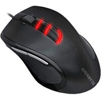 Gigabyte GM-M6900 Computer Mouse Optical Cable USB 3200 dpi Tilt Wheel