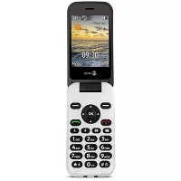 Doro 6620 Mobile Phone - SIM Free  - 2.8in Display - 2G, 3G Network -  Bluetooth, GPS - Colour: White