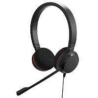 Jabra EVOLVE 20 Wired Over-the-head Stereo Headset - Supra-aural - Noise Cancelling Microphone - Noise Canceling - USB
