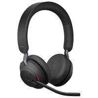 Jabra Evolve2 65 Wireless Over-the-head Stereo Headset - Noise-cancelling Microphone - Supra-aural - Bluetooth