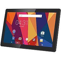 "Hannspree HANNSpad SN1ATP3B Tablet • Quad-Core CPU • Display Size: 10.1"" (25.7cm) - 1280x800 - 16:10 • RAM: 2GB • Storage: 16GB • microSD Slot • Colour: Silver"