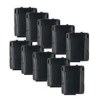 Zebra PowerPrecision+ Handheld Device Battery 4620 mAh Proprietary Battery Size Lithium Ion Rechargeable 10 Pack