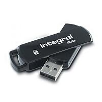 Integral Memory Drive Secure 360Lock II Encrypted USB 2.0 Memory Stick 8GB
