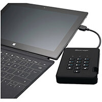 iStorage diskAshur2 HDD Black 2TB IS-DA2-256-2000-B