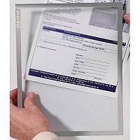 Franken Magnetic Document Holder ValueLine A3 Grey ITSA3M 12