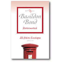 Basildon Bond White Envelope 95 X 143mm Pack of 20 100080067