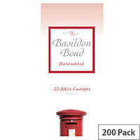 Basildon Bond White Post-Quarto Envelopes (Pack 200)