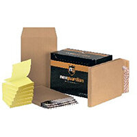 New Guardian C4 Gusset Envelope Manilla (Pack of 100) FOC Post-it Notes Yellow Pk6 JDE814021