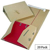Mailing Filer 320x290x35-80mm Pack 20