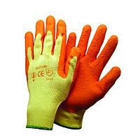 Shield Rubber Coat/Knit Gloves Orange Size 9 M/L-Men or XXL-Women GI/RC2