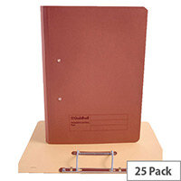 Guildhall Red Transfer File Pack of 25 346-REDZ