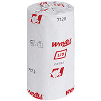 WYPALL L10 Small Roll 1 Ply Blue 12 Pack 7123