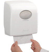 Kimberly-Clark Aquarius Rolled Hand Towel Dispenser White 7375
