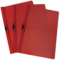 Quickclip File A4 3mm Pack of 25 Red Q-Connect