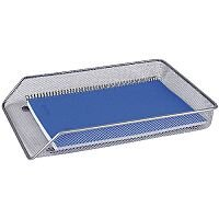 Q-Connect Mesh A4 Letter Tray Silver KF00843