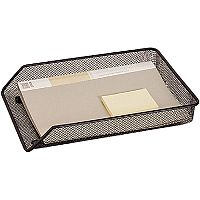 Q-Connect Mesh A4 Letter Tray Black KF00848