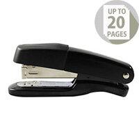 Q-Connect Stapler Metal Half Strip Black