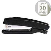 Q-Connect Stapler Plastic Full Strip Black