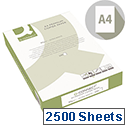 Q-Connect A4 80gsm White Premium Copier/Laser Paper Box of 2500 Sheets KF01088A