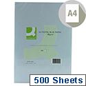 A4 Blue Coloured Copier Paper 80gsm Ream 500 Sheets Q-Connect