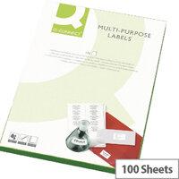 Q-Connect Multi-Purpose White Labels 99.1x38.1mm (1400 Labels)