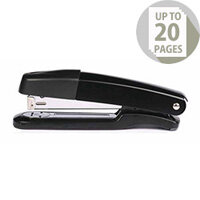 Q-Connect Metal Stapler Full Strip Black