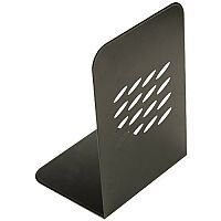 Q-Connect Metal Bookends L-Shape One Pair 7264