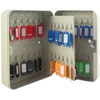 Q-Connect 48-Key Key Safe Cabinet Pearl Grey