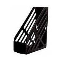 Q-Connect Foolscap Magazine Rack Black
