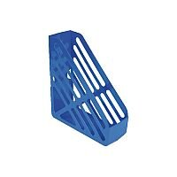 Q-Connect Foolscap Magazine Rack Blue