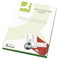 Q-Connect Full Face CD Label Pack of 50 Sheets KF05608