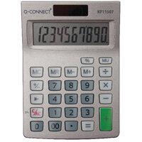 Q-Connect Semi-Desktop 10-Digit Calculator KF11057