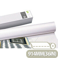 Q-Connect Plotter Paper 914mm x50 Metres 90gsm Pack of 4 Rolls