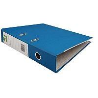 Q-Connect Lever Arch File Foolscap Paper-Backed Blue