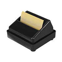 Q-Connect Executive Z-Note Holder Dispenser Black