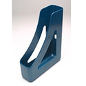 Q-Connect Executive Magazine Rack Metallic Blue
