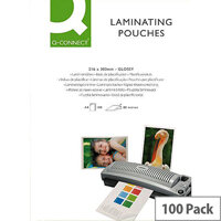Q-Connect Laminating Pouch A5 200 microns Pack of 100