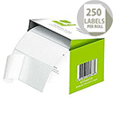 Q-Connect Address Labels Roll Self-Adhesive 89x36mm (250 Labels)