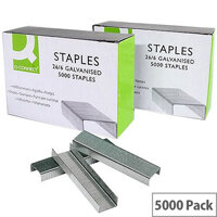 Q-Connect Metal Staples 26/6 Pack of 5000 KF27001