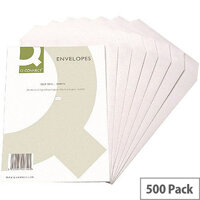 Q-Connect C5 White Envelopes 90gsm Pocket Self Seal Pack 500 KF3469