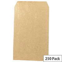 Q-Connect Pocket Envelopes 406x305mm 100gsm Manilla Self Seal Pack of 250