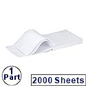 Q-Connect Listing Paper 279 x 241mm 1-Part 60gsm Plain Pack 2000