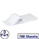 Q-Connect White 3-Part NCR Listing Paper (Pack of 700)