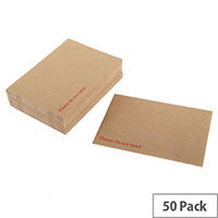 Q-Connect 444 x 368mm Board Back Envelopes 120gsm (50 Pack)
