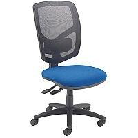 Arista Mesh Back Operator Chair Blue & Black