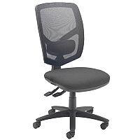 Arista Mesh Back Operator Chair Charcoal & Black